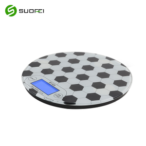 Suofei SF-620 Tempered Glass OEM Food Scale Electronic Weight Digital Kitchen Scale