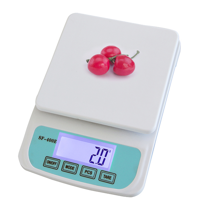 Suofei SF-400E New Kitchen Food Diet LCD Scale Electronic Weight Printing Digital Kitchen Scale
