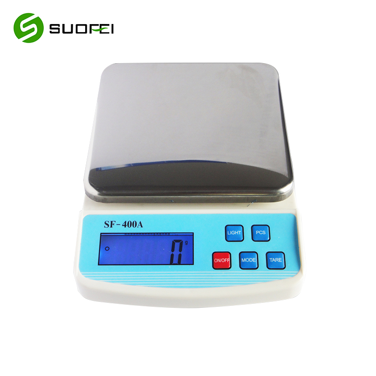 Suofei SF-400A Stainless Steel Food Baking Weighing Diet Scale Electronic Weight Digital Kitchen Scale