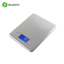Suofei SF-2013 Factory Slim Design Balance Weight Food Diet Digital Kitchen Scale