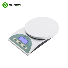 Suofei SF-410 High Precision Fruit Food Diet Scale Electronic Weight Printing Digital Kitchen Scale